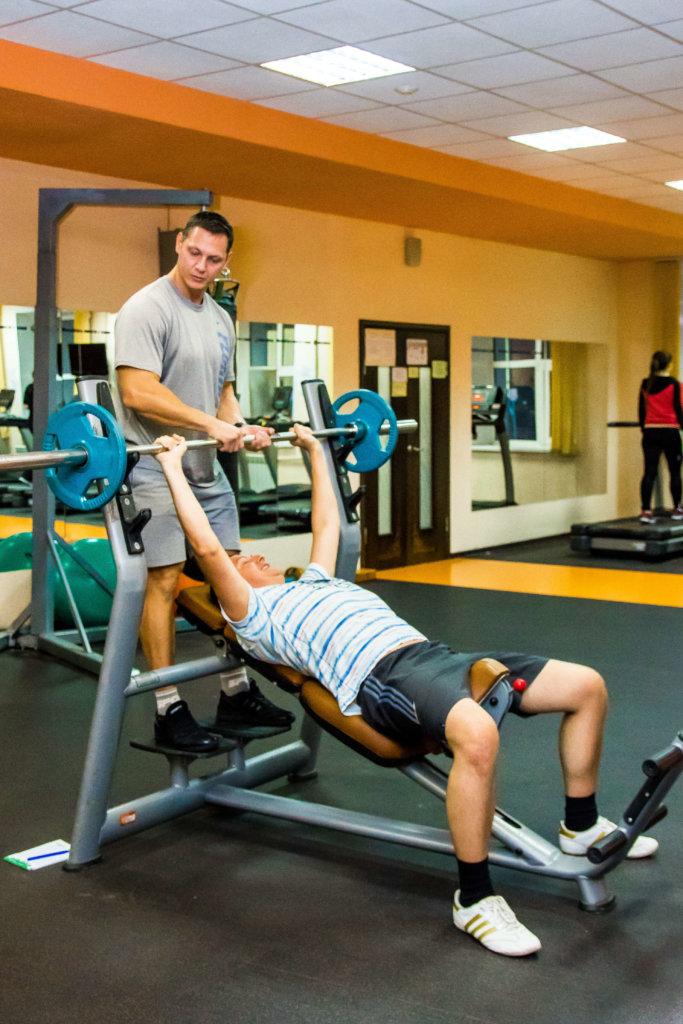 person-trening